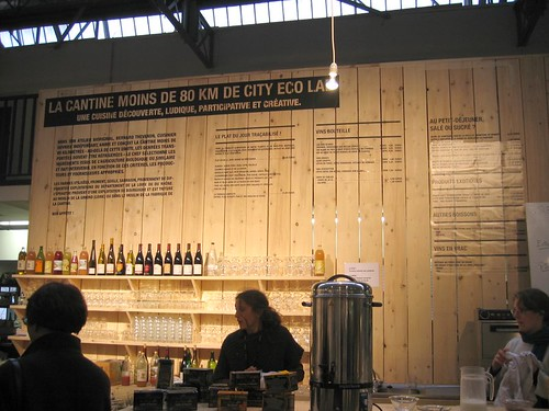 All food and drink was from within 80 km of the Biennale.