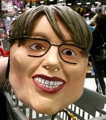 Sarah Palin latex Halloween mask
