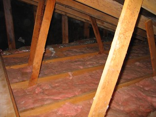 The R11 attic insulation