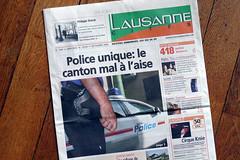 Une de Lausanne Cités ne respectant pas les Creative Commons