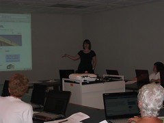 Introduction to Blogging class
