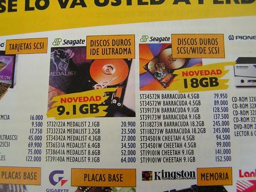 Discos duros 98