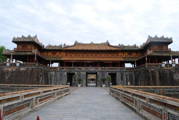 Puerta de la Ciudadela Imperial de Hue