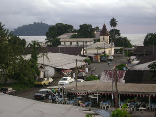 View of Limbe from my hotel.