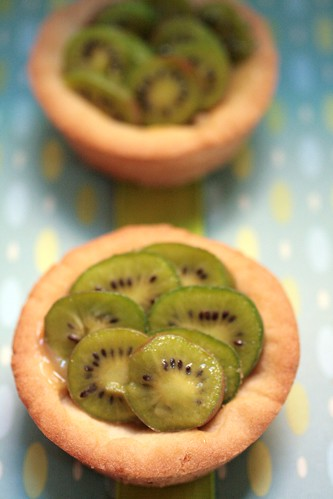 Kiwi Lemon Tarts