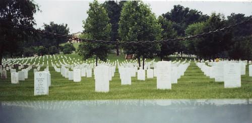 Arlington National Cemetery from the Women's War Memorial