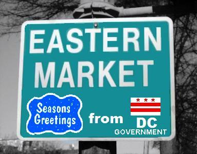 Holiday Housecleaning at Eastern Market