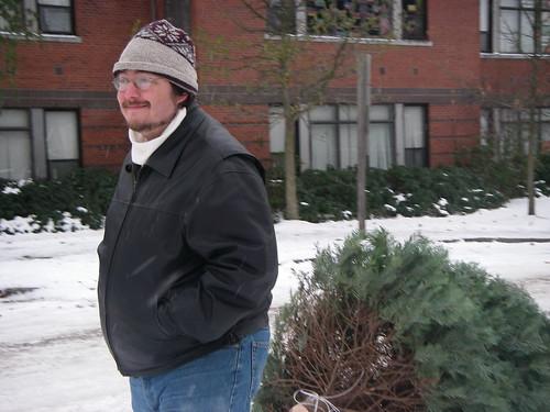 Bringing home a Christmas Tree
