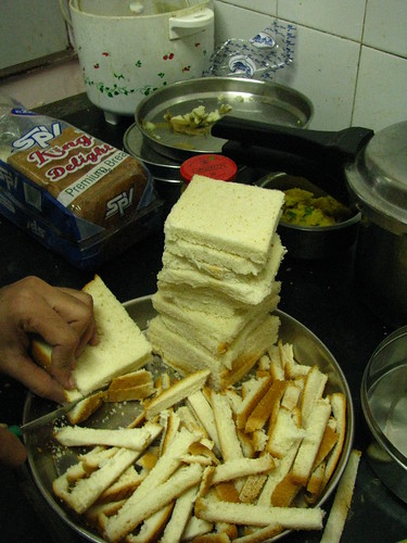 Breads preparation