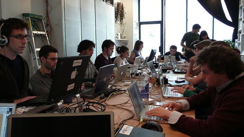 fervent coders at Williamsburg Coworking