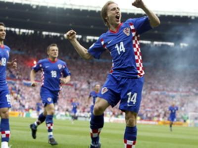 Soccer Euro 2008 Austria Croatia