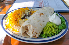 Rudee's Blackened Tuna Burrito