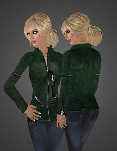 Hot LALAs Inbound jacket close up