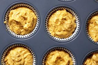 pumpkin cupcake batter