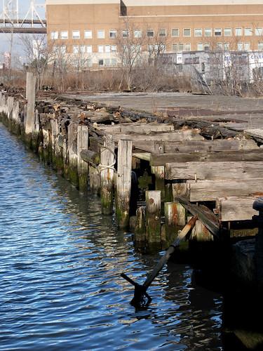 East River shoreline