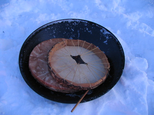 Cool Drums, Minneapolis, Minnesota, Winter Solstice, December 21st 2008, photo © 2008 by QuoinMonkey. All rights reserved.