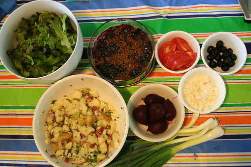 Make Your Own Salad Night