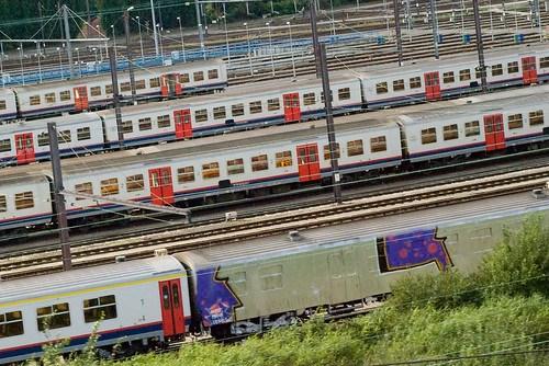 Graffiti-trein