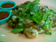 SP oyster omelette