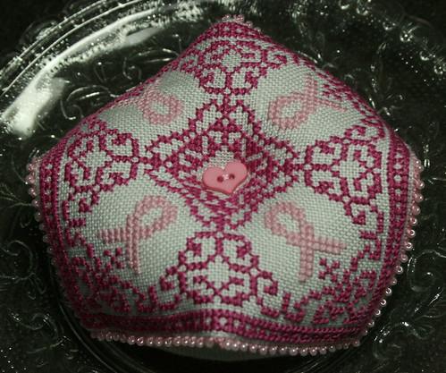 Pink Biscornu