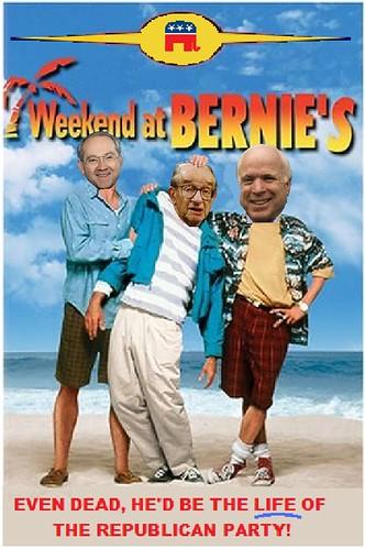McCain Financial Policy -- Weekend at Bernie's