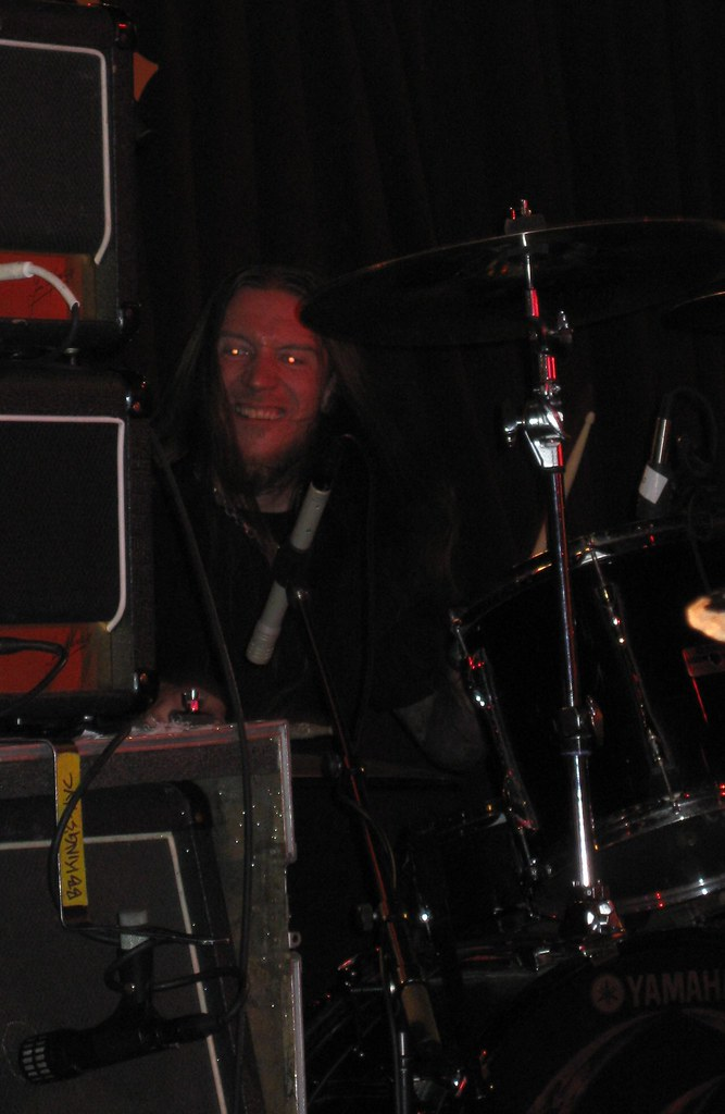 Anders Schultz on drums. Told you hes an evil gremlin