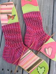 Socks for Knitty Swap Pal1