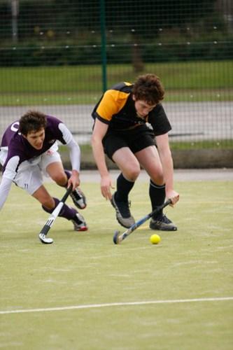 Mens Hockey vs. Durham 26-11-2008: Sam Newsome