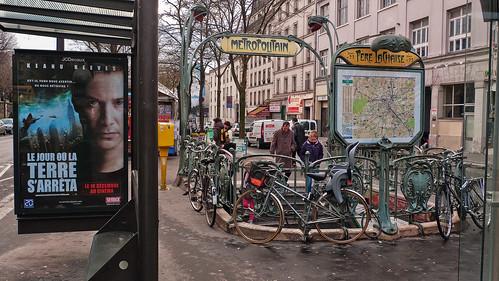 Metro Père Lachaise