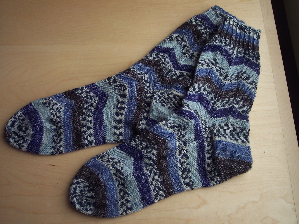 Jaywalker socks #2