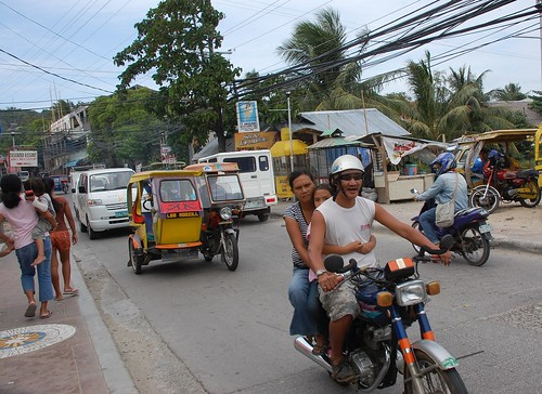 Boracay Busy High Way