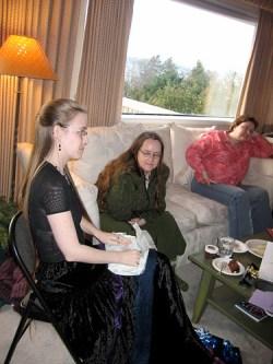 Snow, Ashley, & Andrea