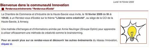 Bienvenue dans la communauté Innovation by you.