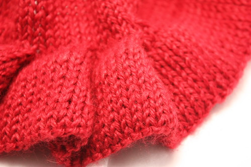 four 5-stitch pleats
