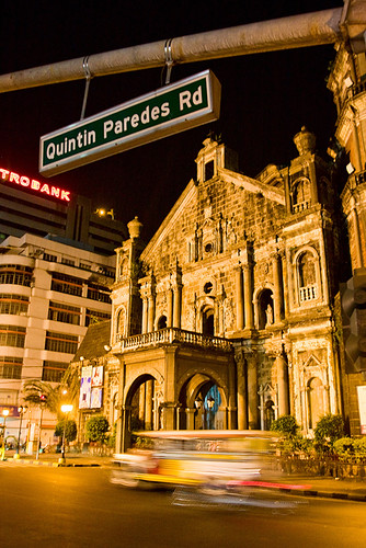 Binondo Church At Night