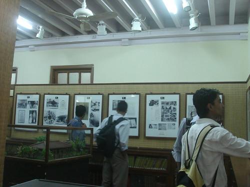 Mumbai_甘地故居_展覽室1-1