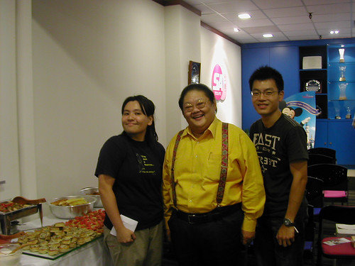 Sophia, Moses Lim, Joe