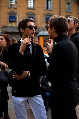 The Sartorialist in Milan