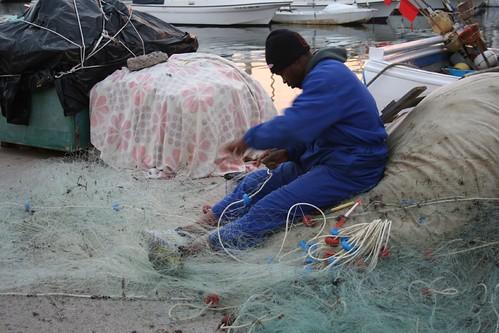 Cosiendo las redes - Cabo de Palos