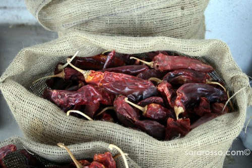 Chiles in a Sack, New Mexico