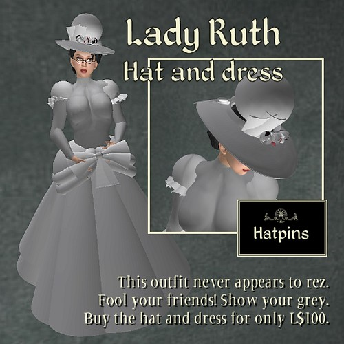 Named for SLs Ruth, this item is for the prankster lady.