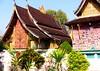 LAOS, Luang Prabang , Tempelfassaden  - 72 by roba66
