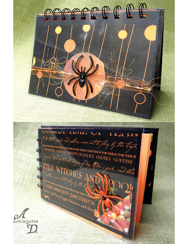 Halloween Spider Journal