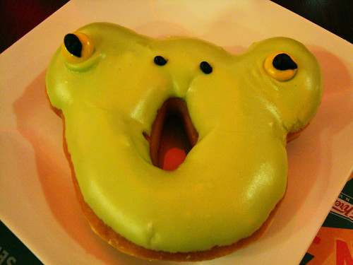 The Ogre Doughnut from Krispy Kreme