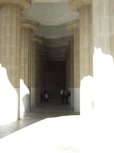 Columnes del Parc Güell