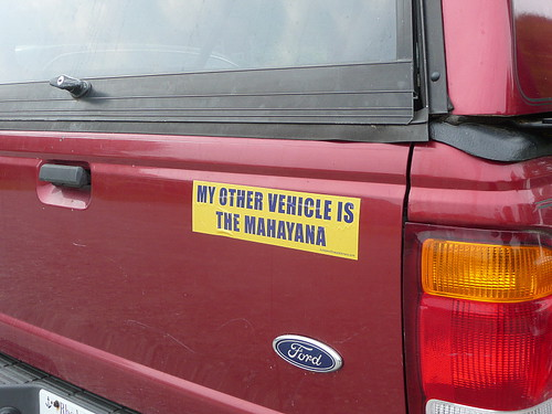 Great vehicle, even greater bumper sticker