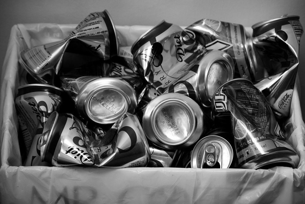 Crumpled Cans