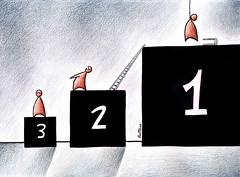 Rivalry (Ben Heine) por Ben Heine
