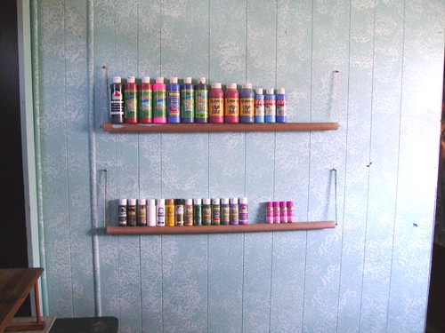 paint shelf