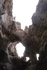 Grotta a cielo aperto
